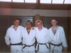 Minä ja uket 4. danin graduoinnin jälkeen (2004)