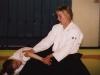 Minä ohjaamassa harjoituksia Liikuntamyllyssä (2005)